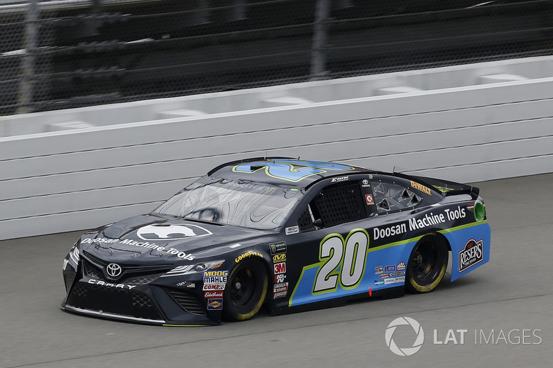 4. Erik Jones, Joe Gibbs Racing, Toyota Camry Doosan