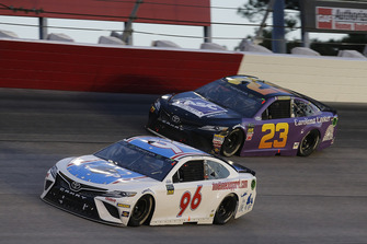 Jeffrey Earnhardt, Gaunt Brothers Racing, Toyota Camry Xtreme Concepts Joey Gase, BK Racing, Toyota Camry Sparks Energy