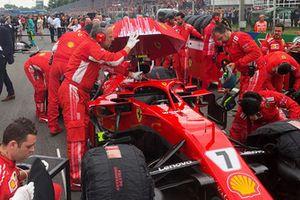 El Ferrari SF71H de Kimi Raikkonen
