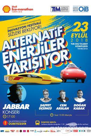 Shell Eco Marathon Türkiye afişi