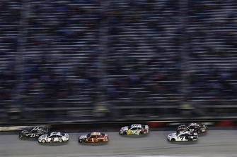 Blake Jones, BK Racing, Toyota Camry Tennessee XXX Moonshine and Brad Keselowski, Team Penske, Ford Fusion Miller Lite