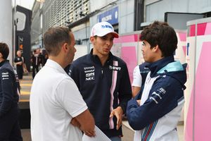 Esteban Ocon, Racing Point Force India F1 Team, Lance Stroll, Williams Racing