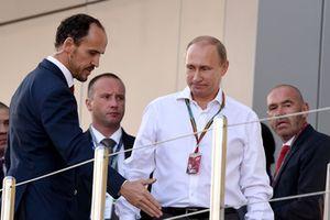 Alexandre Molina, Allsport Management, accompagna Vladimir Putin, Presidente della Russia