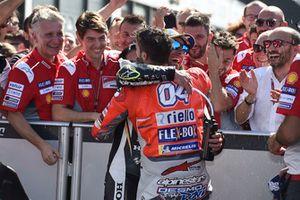 Andrea Dovizioso, Ducati Team, Crutchlow
