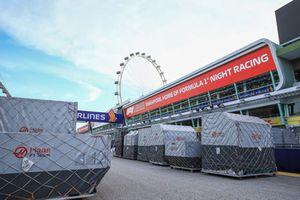 Casse del team Haas F1