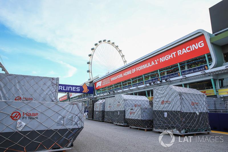 Muatan tim Haas F1