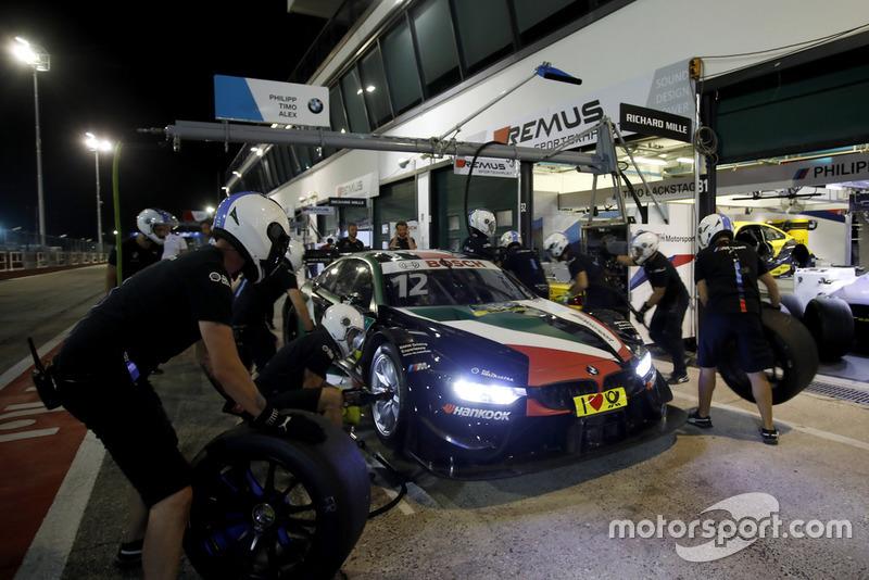 El coche de Alex Zanardi, BMW Team RMR