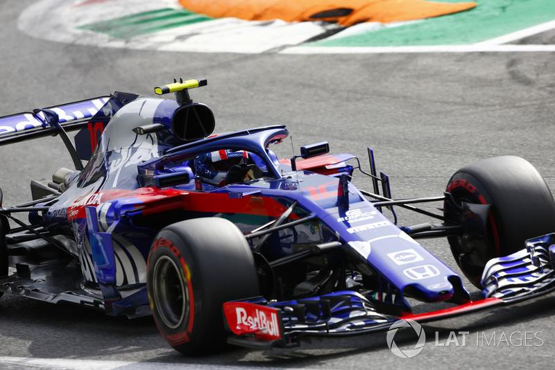 15. Pierre Gasly, Toro Rosso STR13