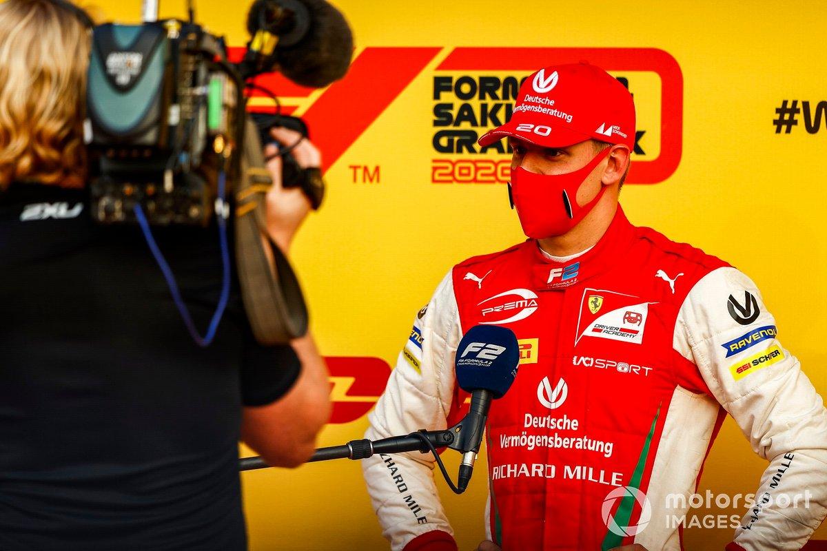 Mick Schumacher, Prema Racing parla alla stampa dopo aver vinto il titolo