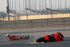 Iker Lecuona, KTM Tech3 crash