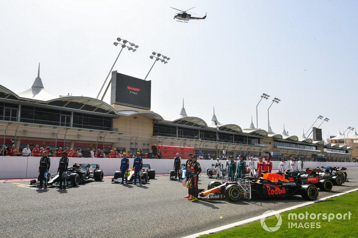 Los pilotos y sus coches para la F1 2021