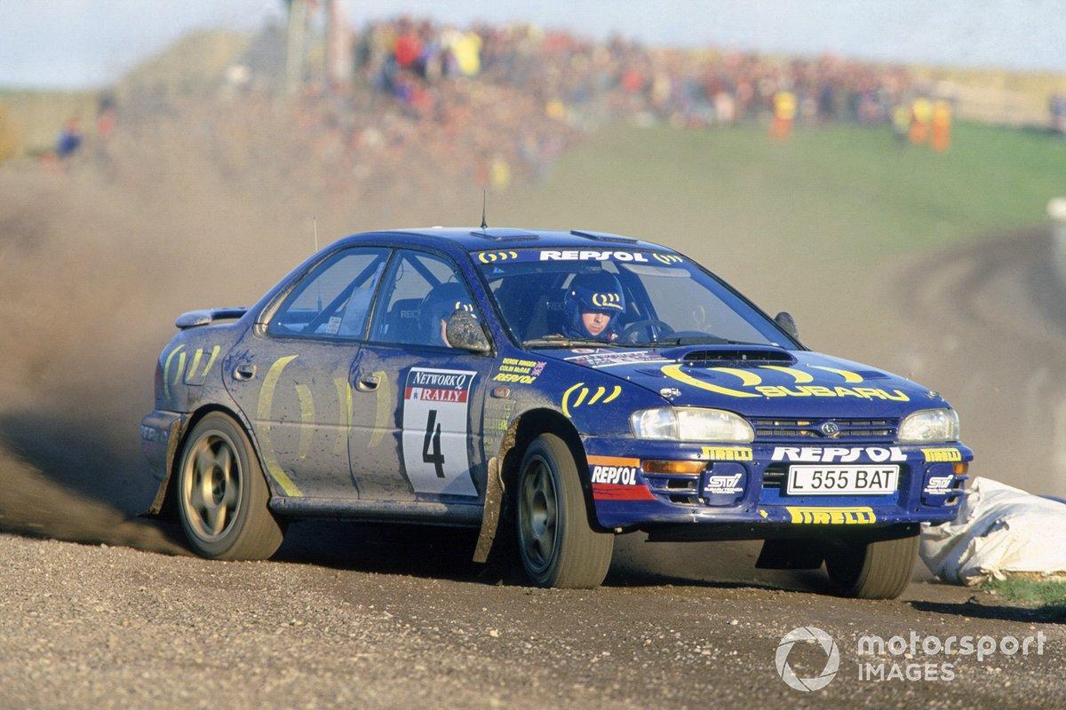Colin McRae, Derek Ringer, Subaru Impreza 555