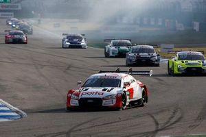 Il giro di formazione prima della partenza, René Rast, Audi Sport Team Rosberg, Audi RS 5 DTM