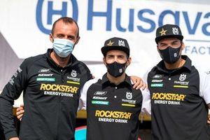 #2 Husqvarna Factory Racing: Pablo Quintanilla, #77 Husqvarna Factory Racing: Luciano Benavides