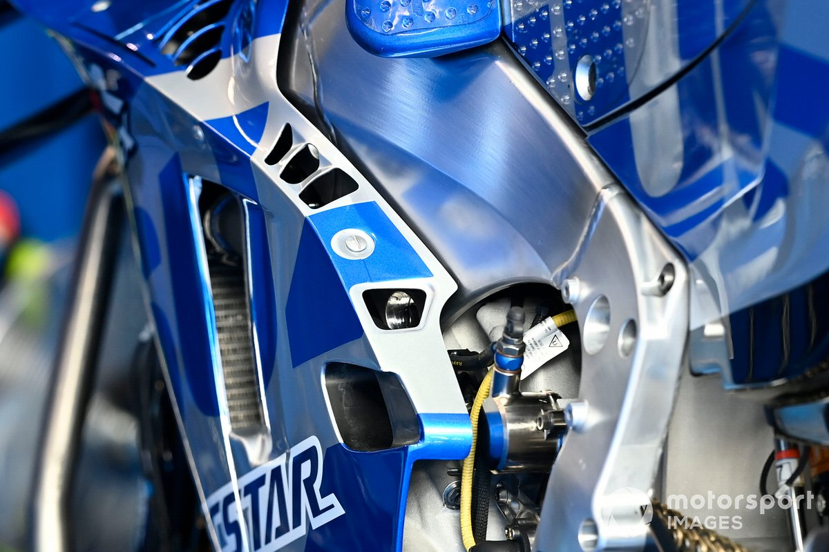 La moto de Suzuki