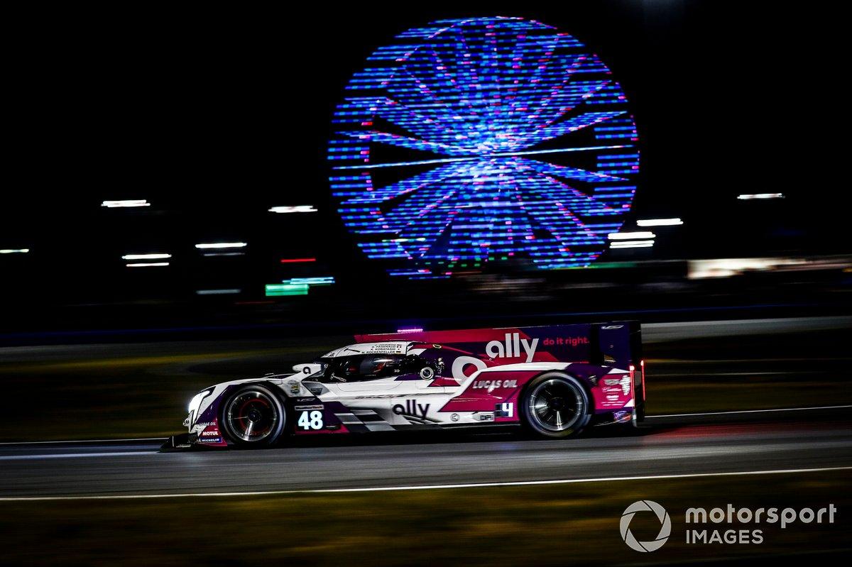 #48: Ally Cadillac Racing Cadillac DPi, DPi: Jimmie Johnson, Kamui Kobayashi, Simon Pagenaud, Mike Rockenfeller