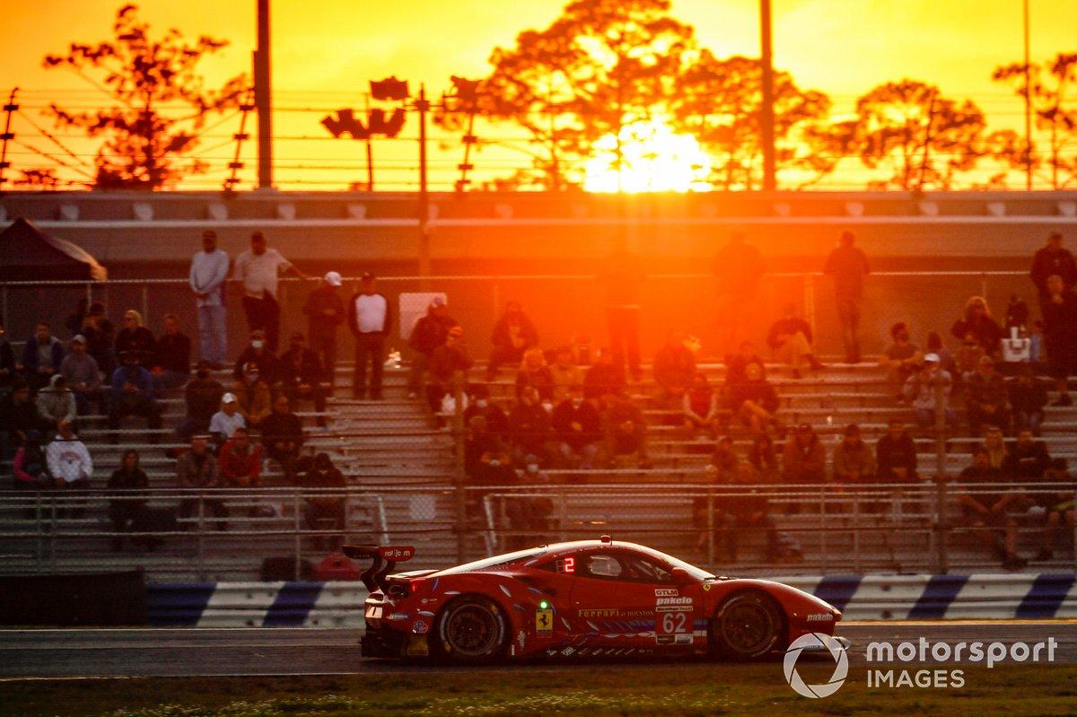 #62 Risi Competizione Ferrari 488 GTE, GTLM: Davide Rigon, Jules Gounon, Alessandro Pier Guidi, James Calado