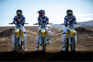 Suzuki AMA Supercross Team 2021: Max Anstie, Brandon Hartranft dan Adam Enticknap