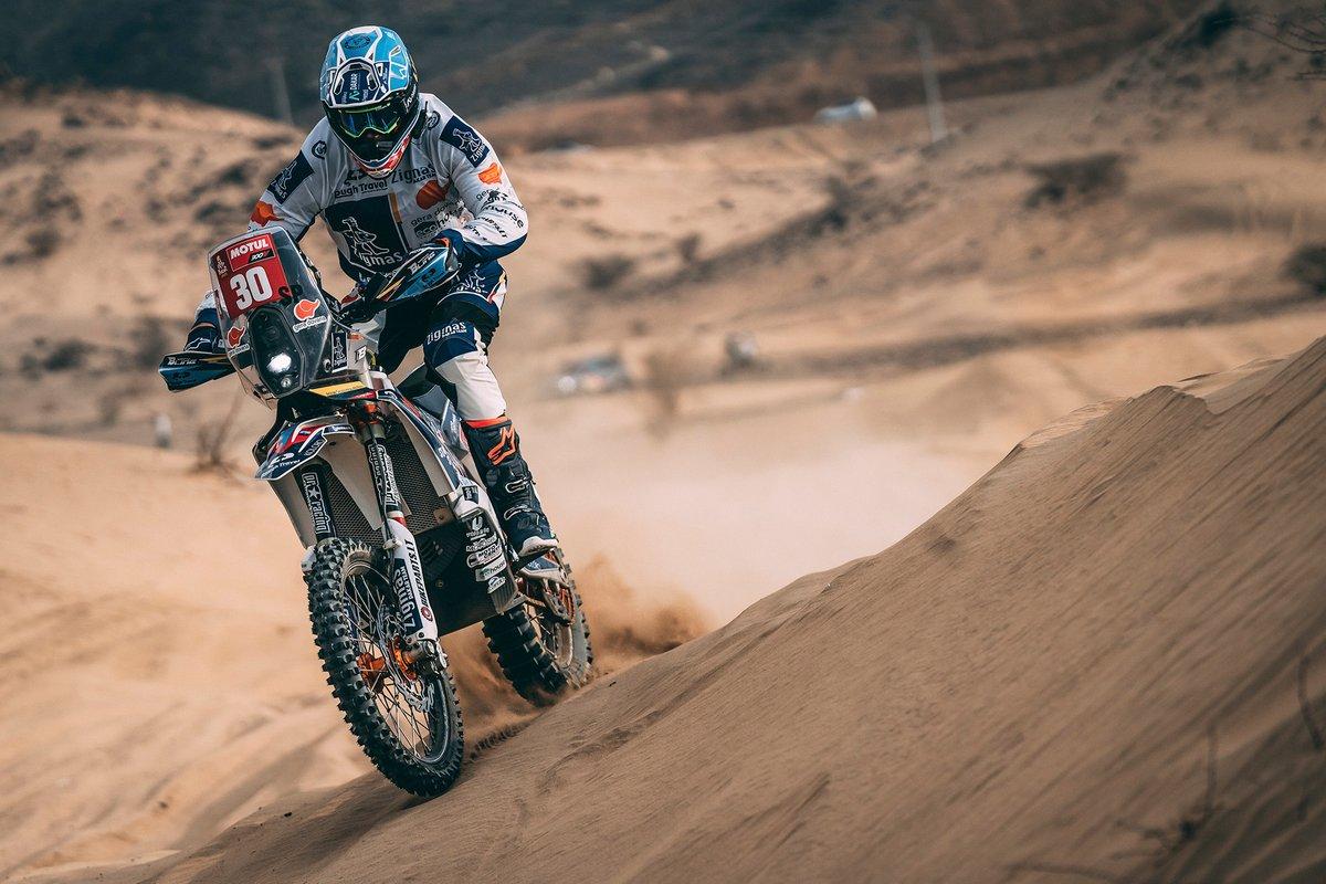 #30 Zigmas Dakar KTM: Arunas Gelazninkas
