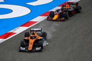 Jack Aitken, Campos Racing locks up ahead of Yuki Tsunoda, Carlin