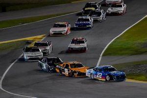 Austin Cindric, Team Penske, Ford Mustang PPG and Daniel Hemric, Joe Gibbs Racing, Toyota Supra Poppy Bank
