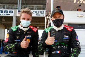 #19 GRT Grasser Racing Team Lamborghini Huracan GT3, GTD: Franck Perera, Tim Zimmermann