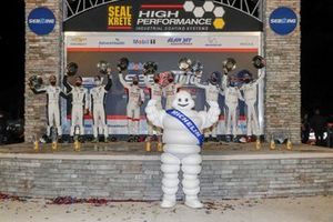 Podium GTD: #9 PFAFF Motorsports Porsche 911 GT3R, GTD: Zacharie Robichon, Laurens Vanthoor, Lars Kern, #23: Heart Of Racing Team Aston Martin Vantage GT3, GTD: Ian James, Ross Gunn, Roman De Angelis, #16: Wright Motorsports Porsche 911 GT3R, GTD: Trent Hindman, Patrick Long, Jan Heylen