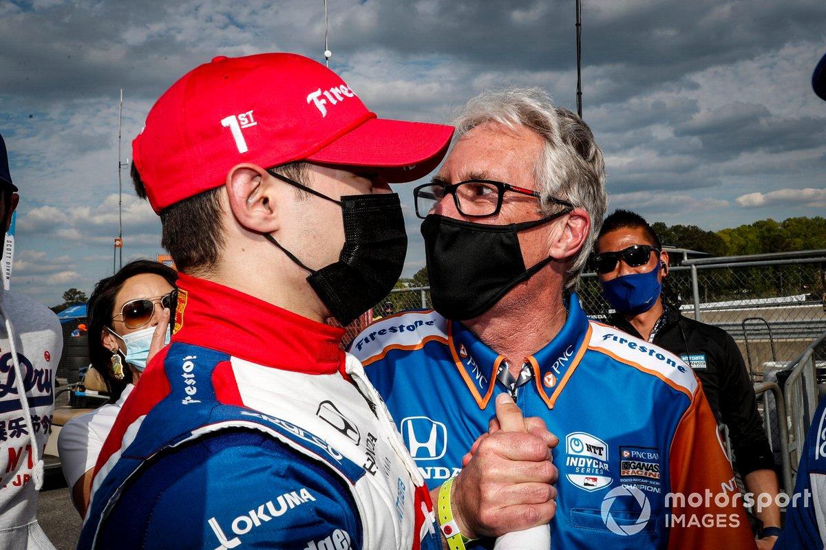 Alex Palou, Chip Ganassi Racing Honda, Michael Cannon
