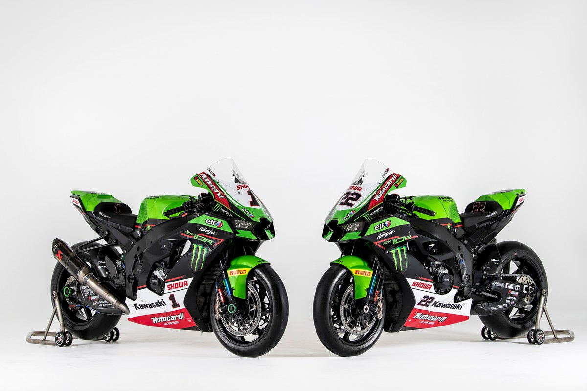 Bikes of Jonathan Rea, Kawasaki Racing Team WorldSBK, Alex Lowes, Kawasaki Racing Team WorldSBK