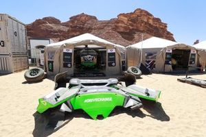 Veloce Racing pit tent