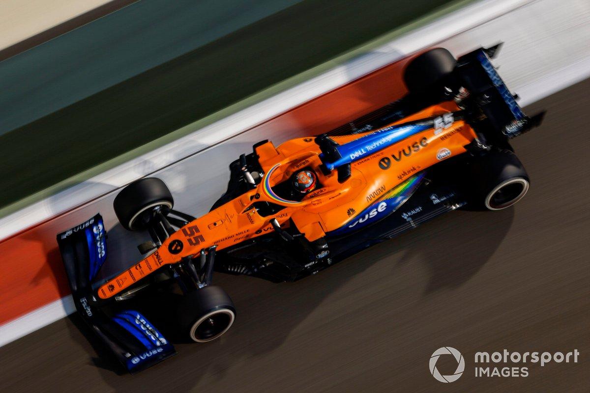 2020 : McLaren MCL35, à moteur Renault