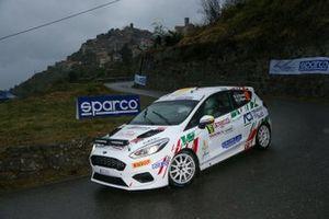 Andrea Piccardo, Luca Migone, Ford Fiesta Rally4 #92, A.S.D.ALMA RACING