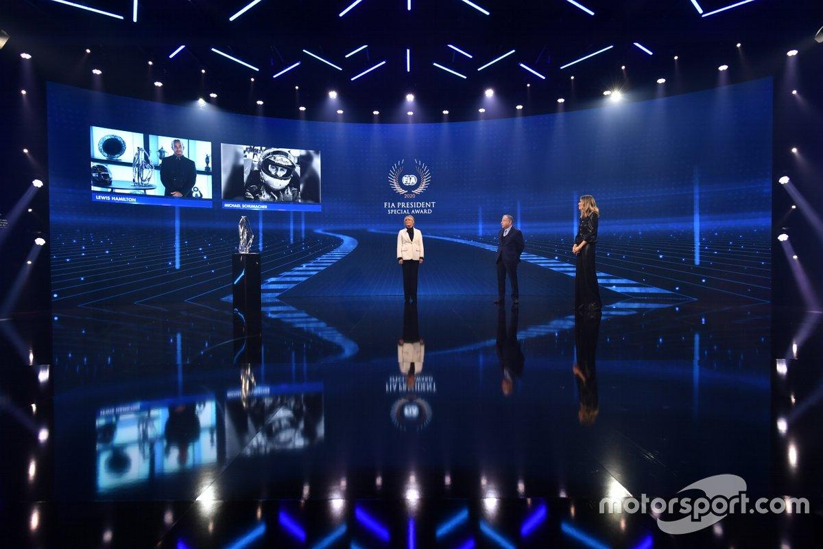 FIA President Special Award: Michael Schumacher, Lewis Hamilton