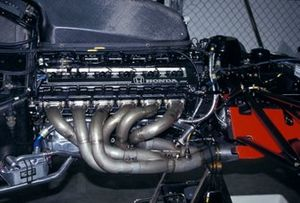 A Honda 3.5 V12 engine in a McLaren MP4-6