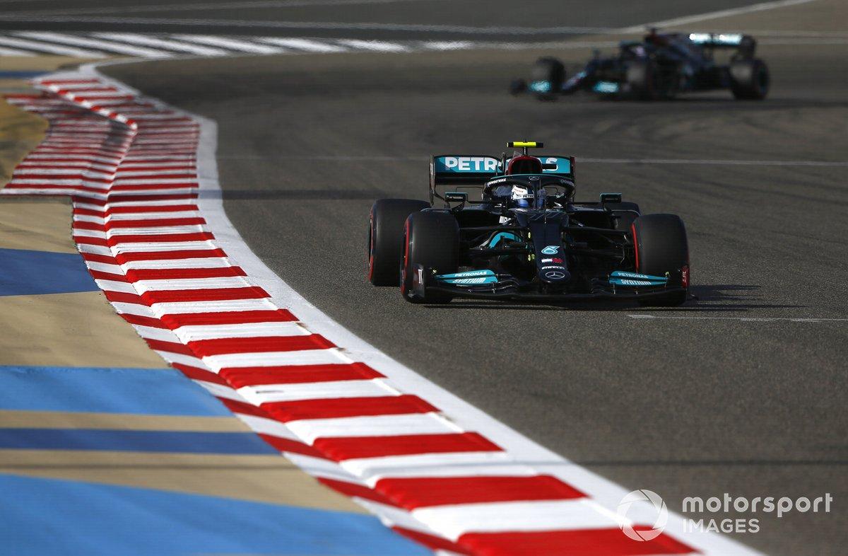Valtteri Bottas, Mercedes W12, Sir Lewis Hamilton, Mercedes W12