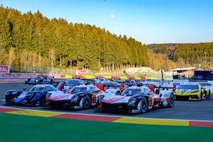 All LMP cars