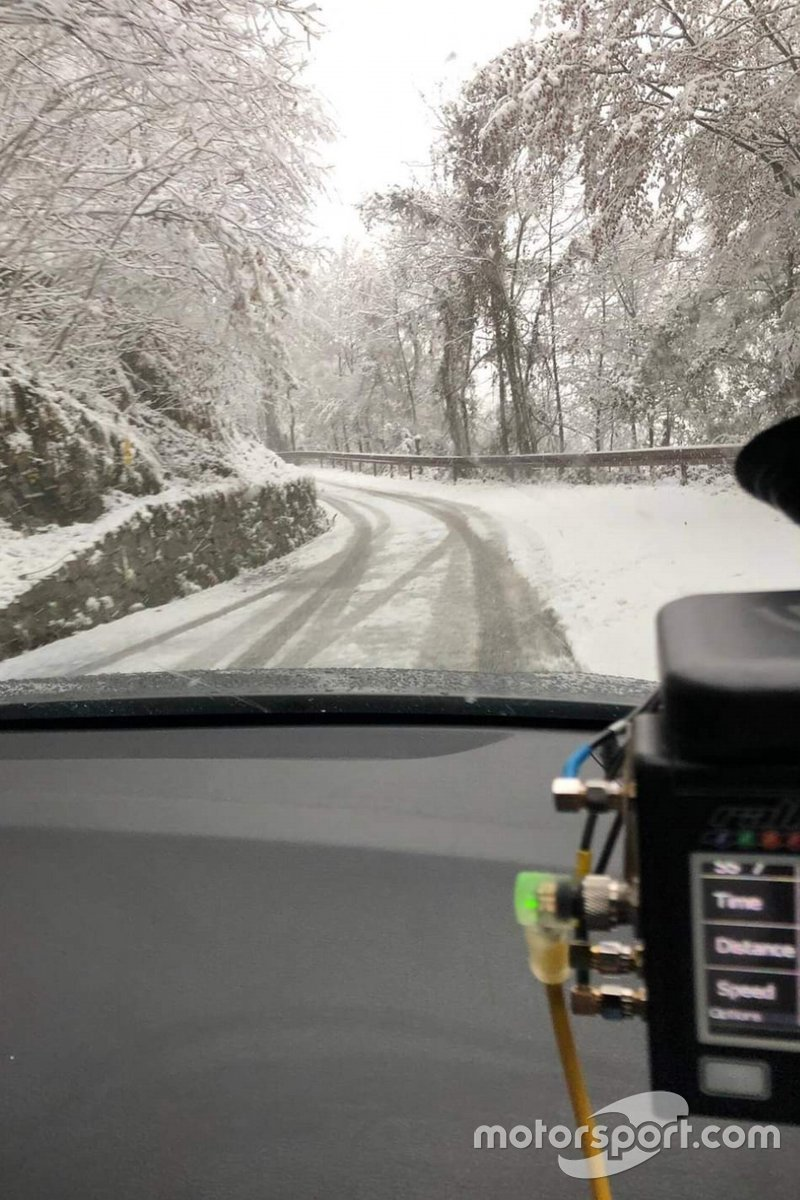 Ricognizione dell'ACI Rally Monza Italia