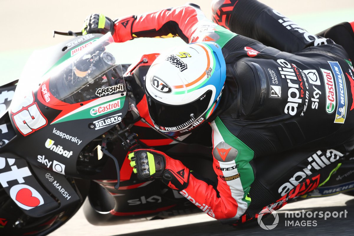 Lorenzo Savadori, Aprilia Racing Team Gresini Qatar