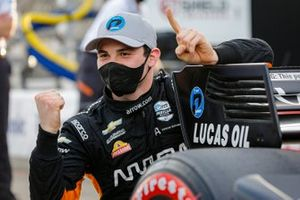 Patricio O'Ward, Arrow McLaren SP Chevrolet wins the NTT Pole Award