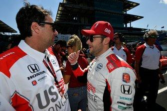 Marco Andretti, Andretti Herta with Marco & Curb-Agajanian Honda avec Bryan Herta