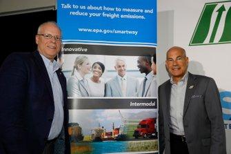 IMSA Green Press conference. Karl Simon. Director, TCD at US EPA. Director, Transportation and Climate Division at US EPA. With IMSA CEO Scott Atherton