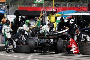 Spencer Pigot, Ed Carpenter Racing Chevrolet, au stand