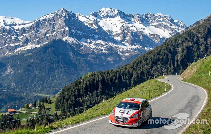 Sacha Althaus, Lisiane Zbinden, Peugeot 208 R2, Lugano Racing Team