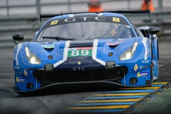 #89 Risi Competizione Ferrari 488 GTE EVO: Pipo Derani, Olivier Jarvis, Jules Gounon