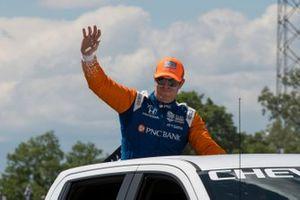 Scott Dixon, Chip Ganassi Racing Honda, pre-race