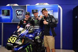 Lorenzo Daretti, Monster Energy Yamaha MotoGP, primer equipo en anunciar su Factory Rider oficial para MotoGP eSport con la firma del doble Campeón del Mundo de eSport.