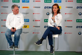 Dave Ryan, W Series Racing Director, Catherine Bond Muir, W Series CEO