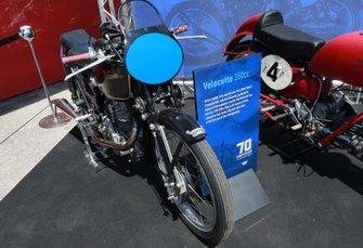 Экспозиция в честь 70-летия чемпионата MotoGP