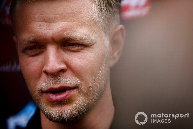 Kevin Magnussen, Haas F1 parla ai media