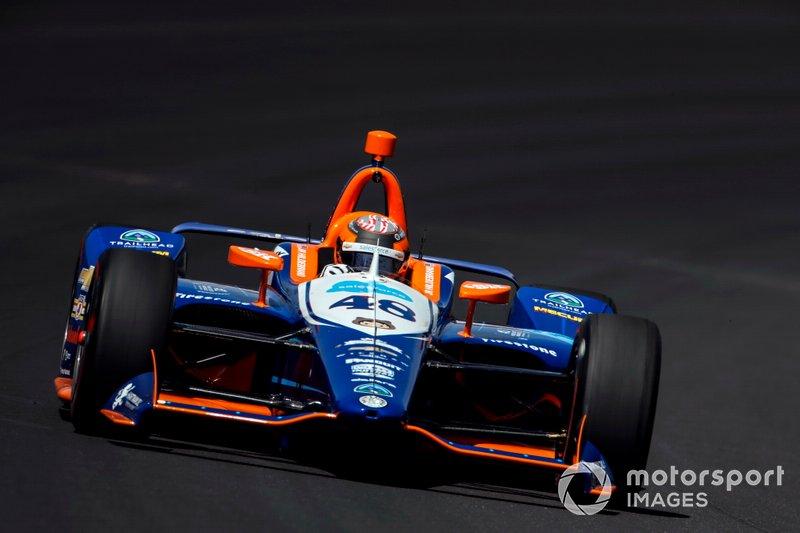21. J.R. Hildebrand, Dreyer & Reinbold Racing Chevrolet
